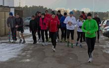 Trainingsläufe für den Silvesterlauf